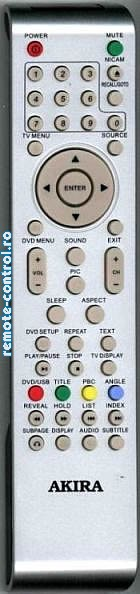 Telecomanda Akira 504C3202101