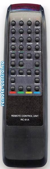 Telecomanda Akai RC61A