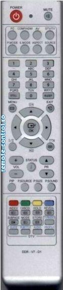 Telecomanda Airis DDR-V7-D1