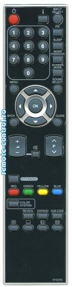 Telecomanda Funai NF021RD