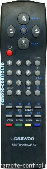 Telecomanda Daewoo R-22