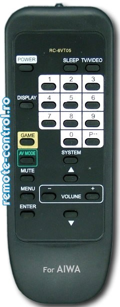 Telecomanda Aiwa RC-6VT05