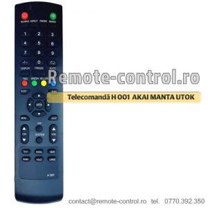 Telecomanda-AKAI-UTOK-MANTA-VORTEX-H001-LCD-remote-control-ro