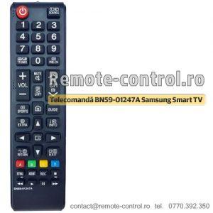 Telecomanda-BN59-01247A-Samsung-smart-TV-remote-control-ro