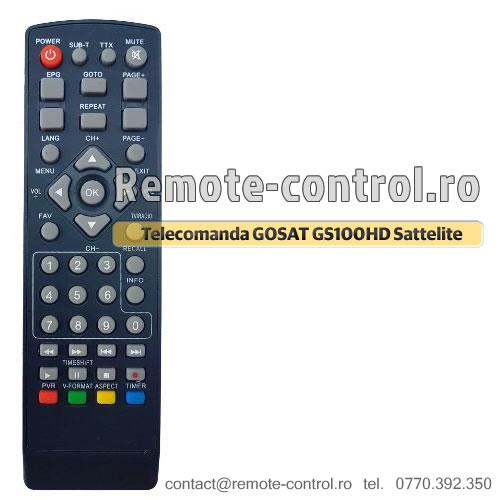 Telecomanda GOSAT GS100HD