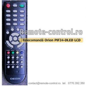 Telecomanda-LED-Orion-PIF24-DLED-remote-control-ro