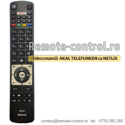 Telecomanda RC5118 TELEFUNKEN