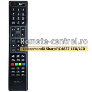 Telecomanda-LED-Sharp-RC4837-remote-control-ro