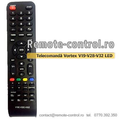 Telecomanda-LED-Vortex-V19-V28-V32-remote-control-ro