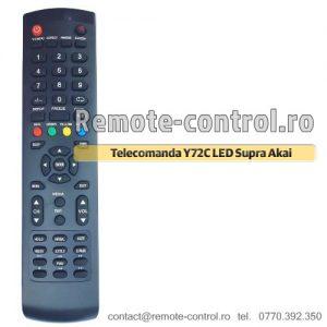 Telecomanda-LED-Y72C-Supra-Akai-remote-control-ro