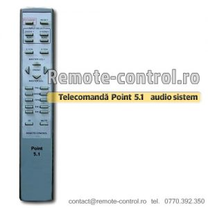 Telecomanda-Point-5-1-audio-sistem-remote-control-ro