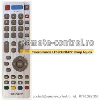 Telecomanda Sharp Aquos LED TV LC-55CUF8472