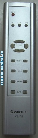 Telecomanda sistem audio 5.1 Vortex V3128