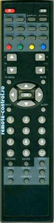 Telecomanda DSL-15T1TD, Daewoo, DSL 15 T 1 T