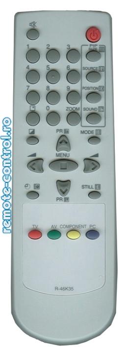 Telecomanda R46K35, Daewoo, R-46K35