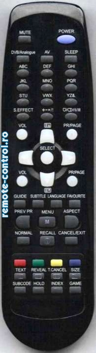 Telecomanda R55H11, Daewoo, R-55H11