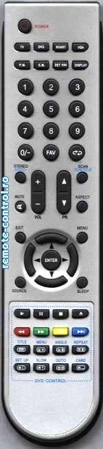 Telecomanda RC-DWW02-V01, Daewoo LCD, RC DWW02 V01