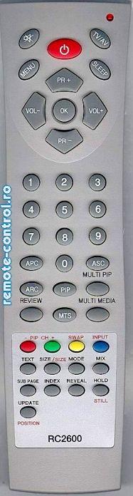 Telecomanda RC2600, Medion, RC 2600